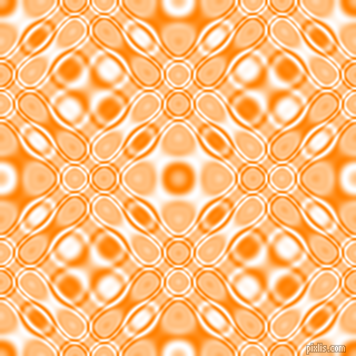 Dark Orange and White cellular plasma seamless tileable