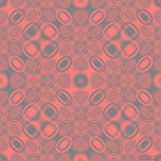 , Grey and Salmon cellular plasma seamless tileable