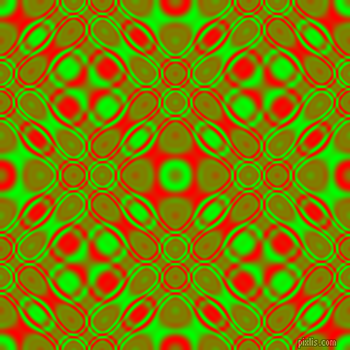 , Lime and Red cellular plasma seamless tileable