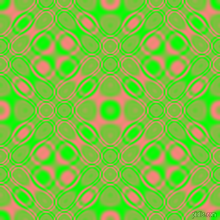 , Lime and Salmon cellular plasma seamless tileable