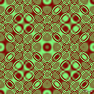 , Maroon and Mint Green cellular plasma seamless tileable