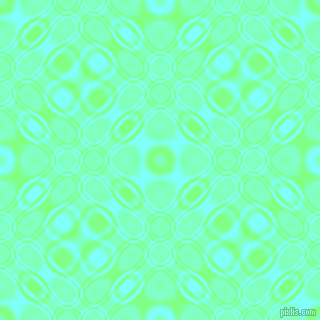 , Mint Green and Electric Blue cellular plasma seamless tileable
