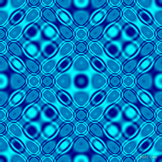 , Navy and Aqua cellular plasma seamless tileable