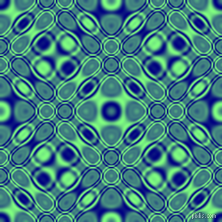 , Navy and Mint Green cellular plasma seamless tileable