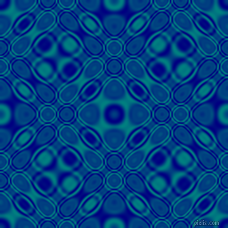 , Navy and Teal cellular plasma seamless tileable