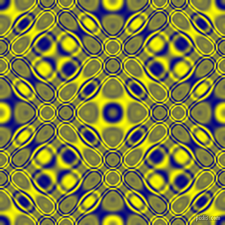 Navy and Yellow cellular plasma seamless tileable