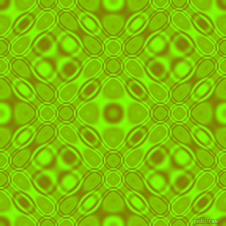 Olive and Chartreuse cellular plasma seamless tileable
