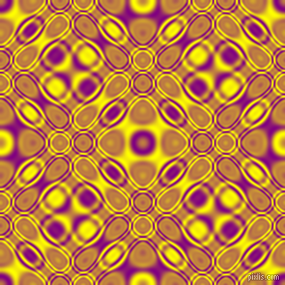 , Purple and Yellow cellular plasma seamless tileable