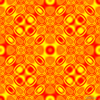 Red and Yellow cellular plasma seamless tileable
