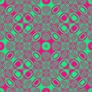 Spring Green and Deep Pink cellular plasma seamless tileable