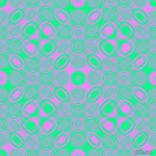 Spring Green and Fuchsia Pink cellular plasma seamless tileable
