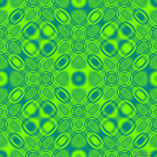 , Teal and Chartreuse cellular plasma seamless tileable
