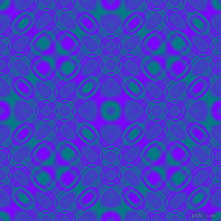 , Teal and Electric Indigo cellular plasma seamless tileable