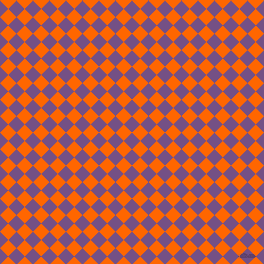 45/135 degree angle diagonal checkered chequered squares checker pattern checkers background, 24 pixel squares size, , Affair and Safety Orange checkers chequered checkered squares seamless tileable