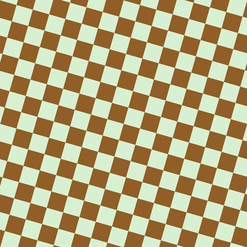 74/164 degree angle diagonal checkered chequered squares checker pattern checkers background, 59 pixel squares size, Afghan Tan and Blue Romance checkers chequered checkered squares seamless tileable