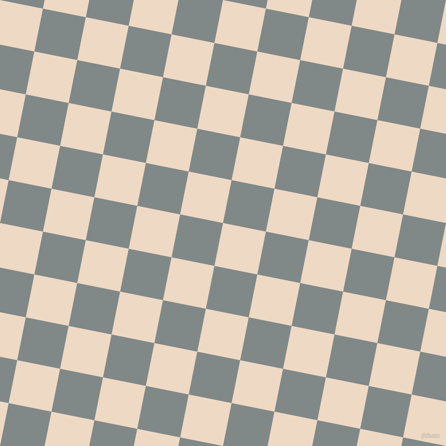 79/169 degree angle diagonal checkered chequered squares checker pattern checkers background, 85 pixel squares size, , Almond and Oslo Grey checkers chequered checkered squares seamless tileable