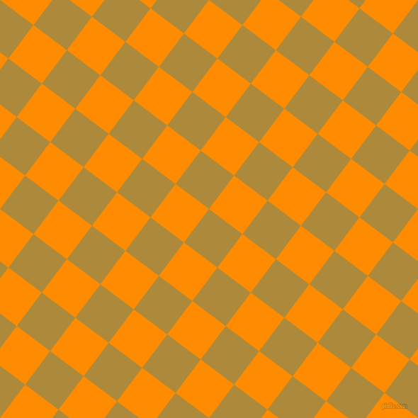 53/143 degree angle diagonal checkered chequered squares checker pattern checkers background, 59 pixel square size, , Alpine and Dark Orange checkers chequered checkered squares seamless tileable