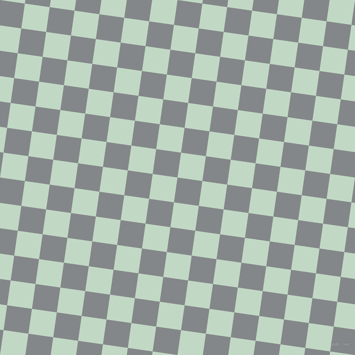 82/172 degree angle diagonal checkered chequered squares checker pattern checkers background, 49 pixel square size, , Aluminium and Edgewater checkers chequered checkered squares seamless tileable