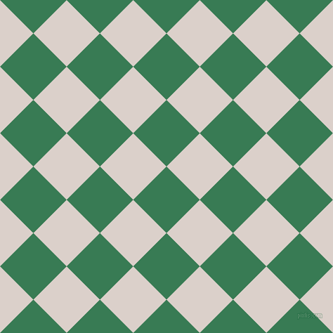 45/135 degree angle diagonal checkered chequered squares checker pattern checkers background, 67 pixel square size, Amazon and Swiss Coffee checkers chequered checkered squares seamless tileable