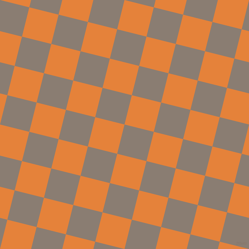 76/166 degree angle diagonal checkered chequered squares checker pattern checkers background, 105 pixel squares size, Americano and West Side checkers chequered checkered squares seamless tileable