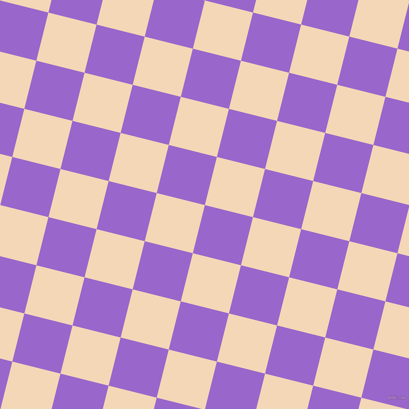 76/166 degree angle diagonal checkered chequered squares checker pattern checkers background, 99 pixel square size, , Amethyst and Pink Lady checkers chequered checkered squares seamless tileable