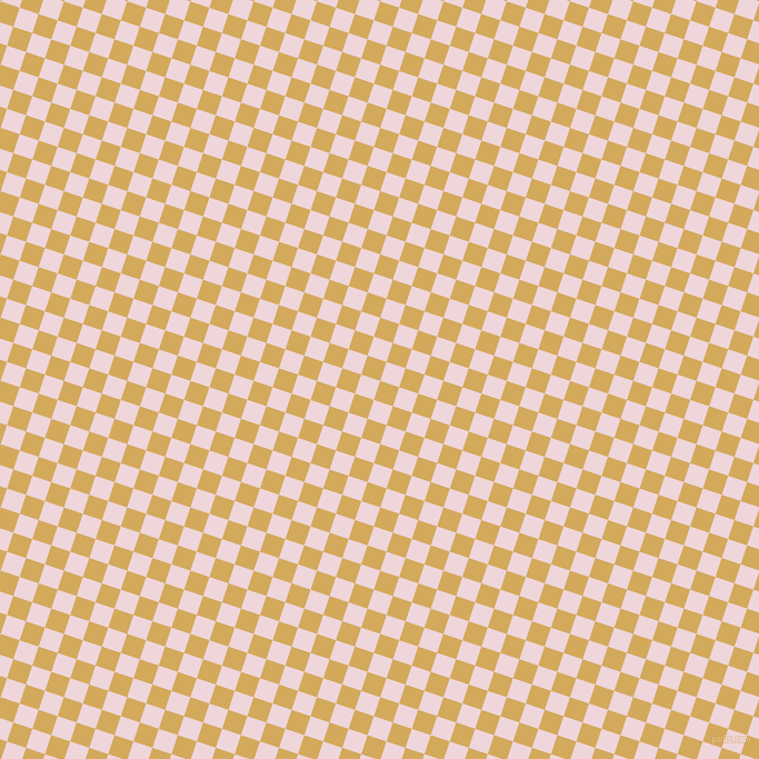 72/162 degree angle diagonal checkered chequered squares checker pattern checkers background, 18 pixel squares size, , Apache and Pale Rose checkers chequered checkered squares seamless tileable