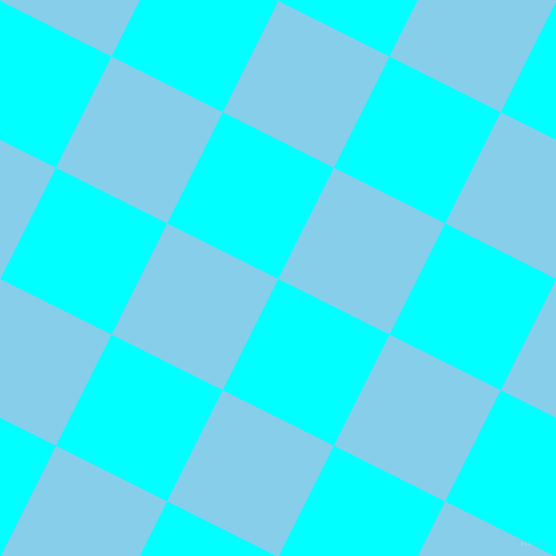 63/153 degree angle diagonal checkered chequered squares checker pattern checkers background, 176 pixel squares size, , Aqua and Sky Blue checkers chequered checkered squares seamless tileable