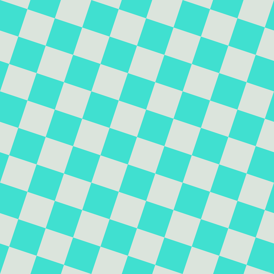 Aqua Squeeze and Turquoise checkers chequered checkered
