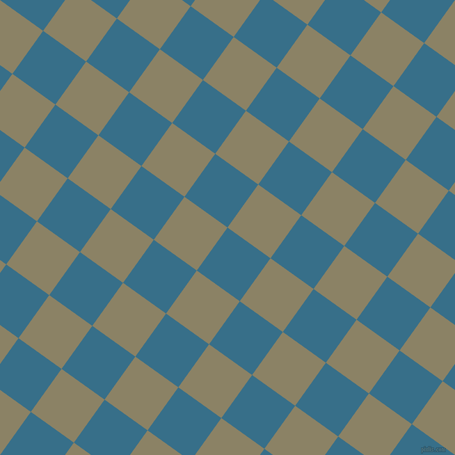 54/144 degree angle diagonal checkered chequered squares checker pattern checkers background, 76 pixel square size, , Astral and Granite Green checkers chequered checkered squares seamless tileable