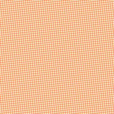 51/141 degree angle diagonal checkered chequered squares checker pattern checkers background, 6 pixel square size, , Atomic Tangerine and Pipi checkers chequered checkered squares seamless tileable