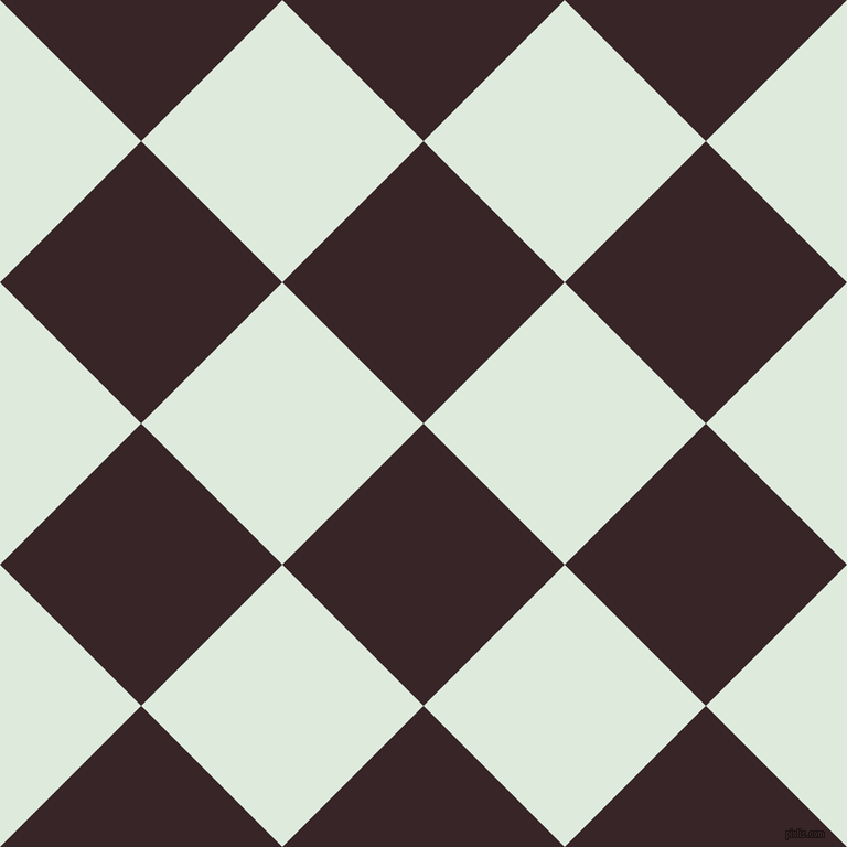 45/135 degree angle diagonal checkered chequered squares checker pattern checkers background, 181 pixel square size, , Aubergine and Apple Green checkers chequered checkered squares seamless tileable