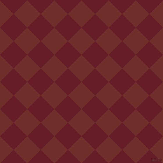 45/135 degree angle diagonal checkered chequered squares checker pattern checkers background, 66 pixel squares size, , Auburn and Pohutukawa checkers chequered checkered squares seamless tileable