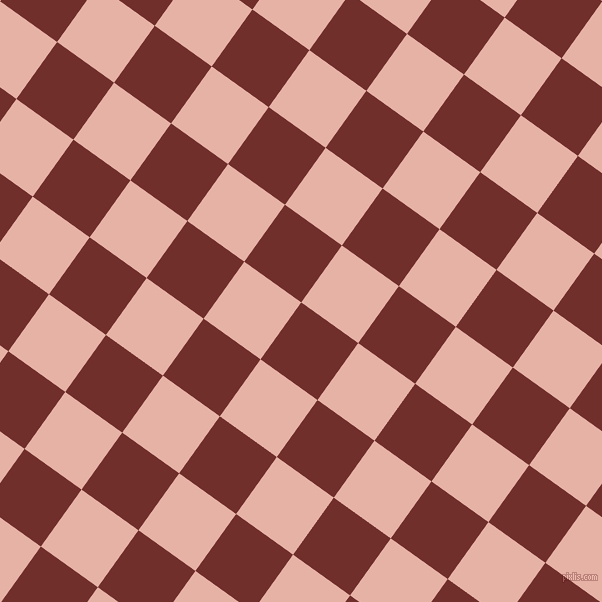 54/144 degree angle diagonal checkered chequered squares checker pattern checkers background, 70 pixel square size, , Auburn and Shilo checkers chequered checkered squares seamless tileable