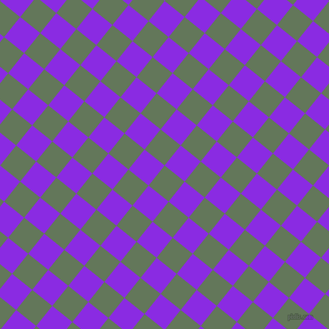 51/141 degree angle diagonal checkered chequered squares checker pattern checkers background, 36 pixel square size, , Axolotl and Blue Violet checkers chequered checkered squares seamless tileable