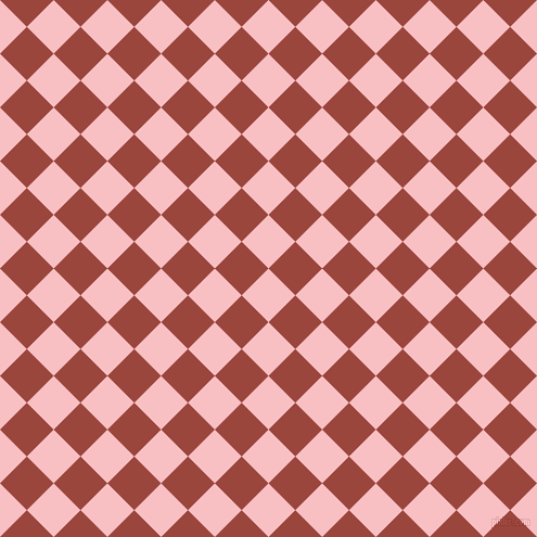 45/135 degree angle diagonal checkered chequered squares checker pattern checkers background, 35 pixel square size, , Azalea and Cognac checkers chequered checkered squares seamless tileable