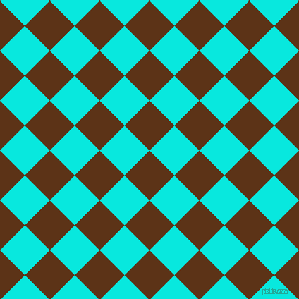 45/135 degree angle diagonal checkered chequered squares checker pattern checkers background, 50 pixel square size, , Baker
