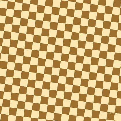 83/173 degree angle diagonal checkered chequered squares checker pattern checkers background, 26 pixel squares size, , Banana Mania and Buttered Rum checkers chequered checkered squares seamless tileable