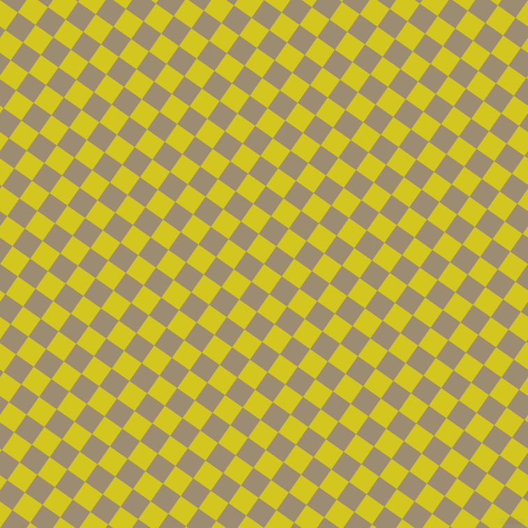 55/145 degree angle diagonal checkered chequered squares checker pattern checkers background, 31 pixel squares size, , Barberry and Pale Oyster checkers chequered checkered squares seamless tileable