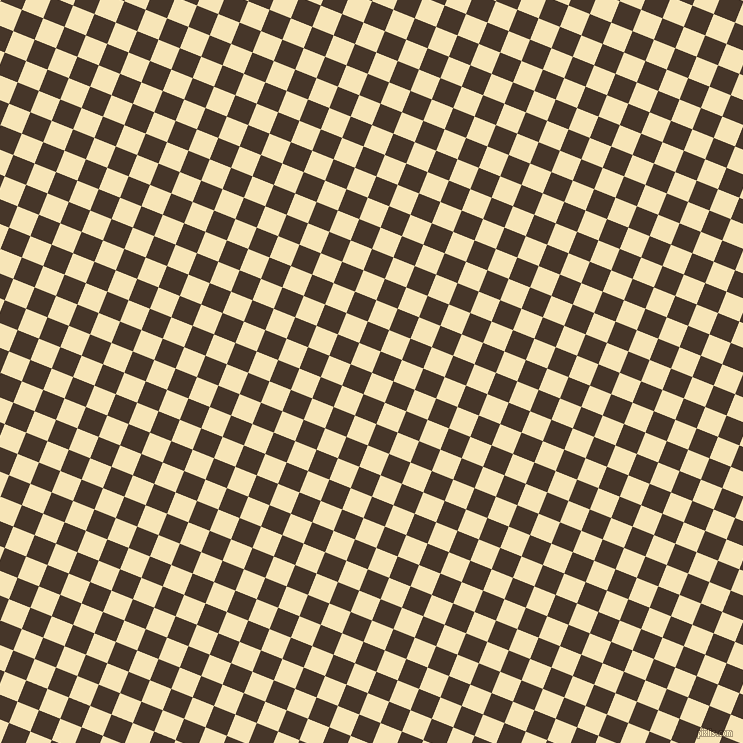 68/158 degree angle diagonal checkered chequered squares checker pattern checkers background, 23 pixel square size, , Barley White and Woodburn checkers chequered checkered squares seamless tileable