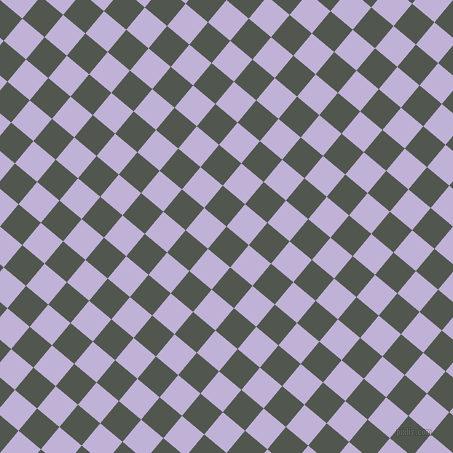 50/140 degree angle diagonal checkered chequered squares checker pattern checkers background, 29 pixel square size, , Battleship Grey and Moon Raker checkers chequered checkered squares seamless tileable