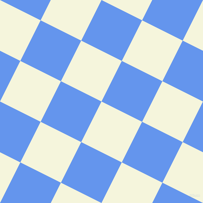 63/153 degree angle diagonal checkered chequered squares checker pattern checkers background, 152 pixel squares size, , Beige and Cornflower Blue checkers chequered checkered squares seamless tileable