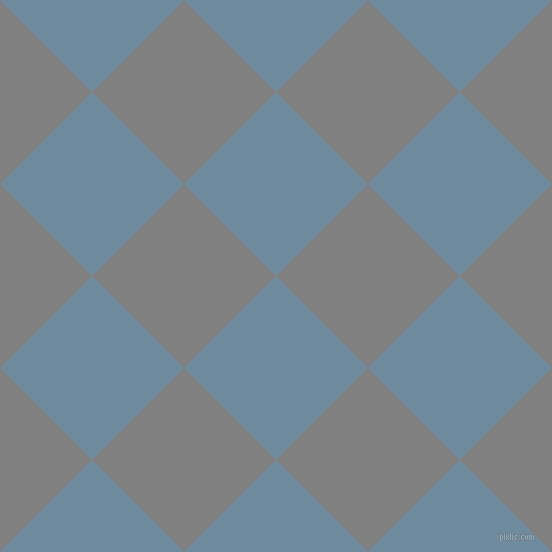 45/135 degree angle diagonal checkered chequered squares checker pattern checkers background, 130 pixel squares size, , Bermuda Grey and Grey checkers chequered checkered squares seamless tileable