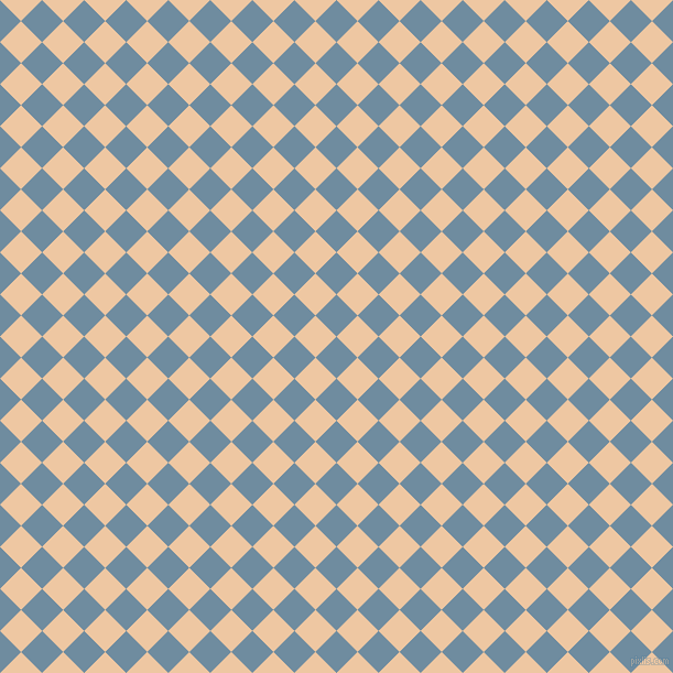 45/135 degree angle diagonal checkered chequered squares checker pattern checkers background, 27 pixel square size, , Bermuda Grey and Negroni checkers chequered checkered squares seamless tileable