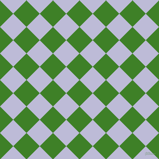 45/135 degree angle diagonal checkered chequered squares checker pattern checkers background, 62 pixel square size, , Bilbao and Lavender Grey checkers chequered checkered squares seamless tileable