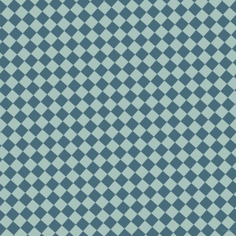 48/138 degree angle diagonal checkered chequered squares checker pattern checkers background, 34 pixel squares size, , Bismark and Opal checkers chequered checkered squares seamless tileable