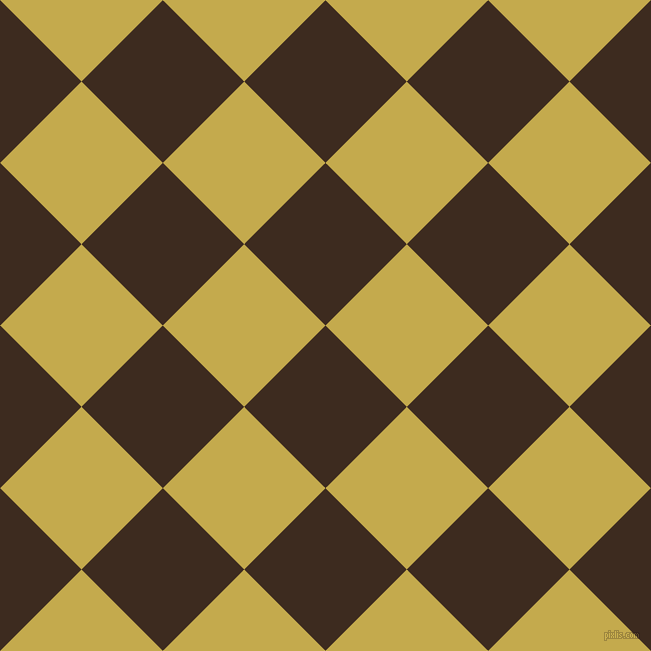 45/135 degree angle diagonal checkered chequered squares checker pattern checkers background, 115 pixel square size, , Bistre and Sundance checkers chequered checkered squares seamless tileable