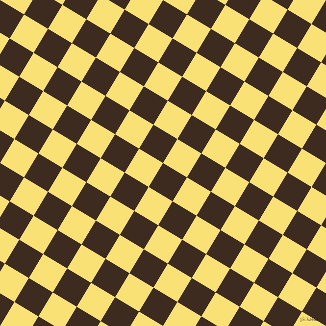 59/149 degree angle diagonal checkered chequered squares checker pattern checkers background, 57 pixel square size, , Bistre and Sweet Corn checkers chequered checkered squares seamless tileable
