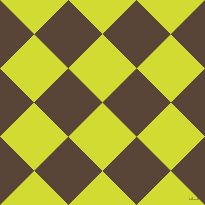 45/135 degree angle diagonal checkered chequered squares checker pattern checkers background, 168 pixel square size, , Bitter Lemon and Brown Derby checkers chequered checkered squares seamless tileable