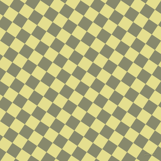 56/146 degree angle diagonal checkered chequered squares checker pattern checkers background, 36 pixel squares size, Bitter and Primrose checkers chequered checkered squares seamless tileable