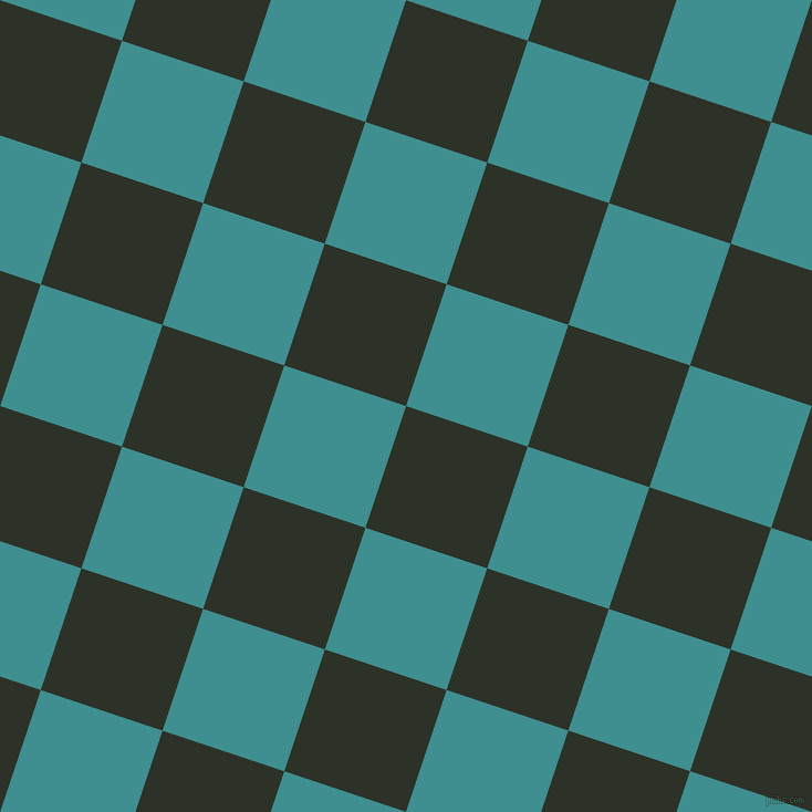 72/162 degree angle diagonal checkered chequered squares checker pattern checkers background, 116 pixel squares size, Black Forest and Blue Chill checkers chequered checkered squares seamless tileable